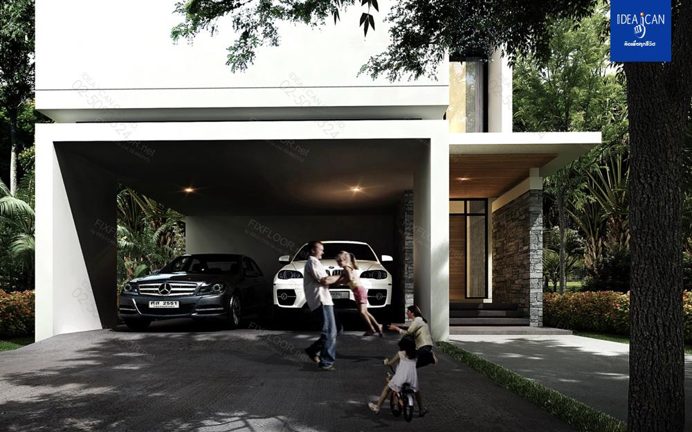แบบบ้านสองชั้น,3D Perspective, รับสร้างบ้าน, แปลนบ้าน, บริษัทรับสร้างบ้าน, แบบบ้านโมเดิร์น, แบบบ้าน modern , แบบบ้านสองชั้น modern style