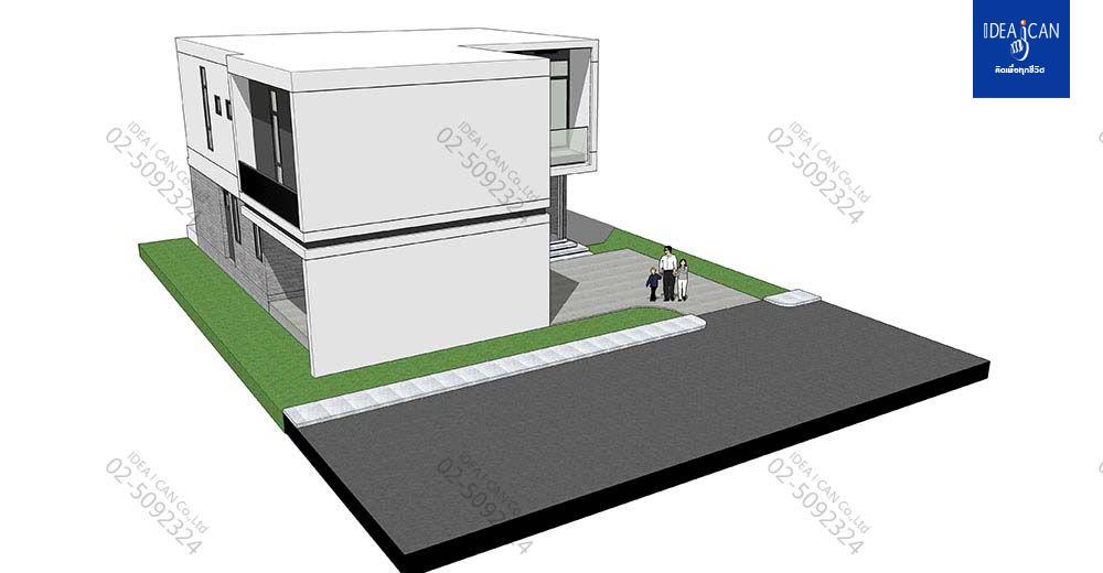 แบบบ้านสองชั้นสไตล์โมเดิร์น, แบบบ้าน 2 ชั้น, แบบบ้าน 4 ห้องนอน, ห้องน้ำสไตล์โมเดิร์น, พื้นที่ใช้สอย 306 ตร.ม., FF-H2-30601.09, แบบบ้านสไตล์โมเดิร์น, แบบบ้านโมเดิร์น, แบบบ้าน modern , รับเหมาก่อสร้าง, รับสร้างบ้าน, รับสร้างบ้านสองชั้น,แบบบ้านสองชั้น
